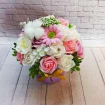 Букет из мыльных цветов в подарок, в Зеленограде