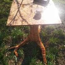 Стол из корня ели ручной работы, в Екатеринбурге