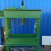 Пресс гаражный гидравлический 40 тонн продам, Владивосток, в Владивостоке