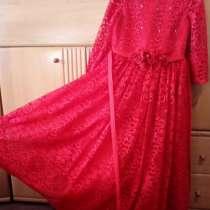 Праздничное красное платье, в Ульяновске