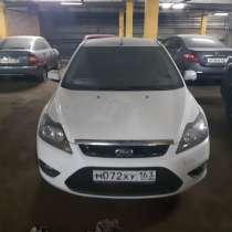Ford Focus, белый, 2010, 1.8 МТ (125 л. с.), в Воронеже