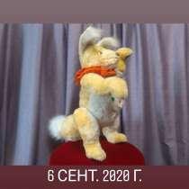 Музыкальная уникальная игрушка жёлтый лис, в Москве