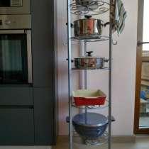Металлический стеллаж для кастрюль, сковородок и др. посуды, в г.Бишкек