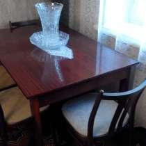 Стол со стульями для гостиной, в г.Караганда