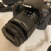 Зеркальный фотоаппарат CANON EOS 650D, в г.Витебск