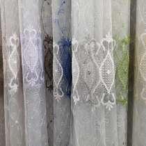 Тюль сетка вышивка рулонами и на отрез, в Щелково