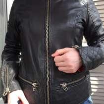 Кожаная куртка косуха, в Москве