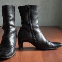 Черные ботинки из натуральной кожи фирма Габор, в Екатеринбурге