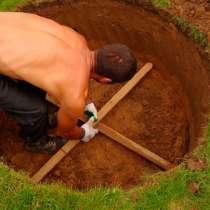 Копка колодцев септиков канализаций, в Саранске