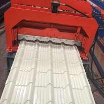 Линия по производству металлочерепицы Монтеррей с Китая, в г.Осака