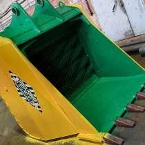 Мощный просеивающий валковый ковш дробилка, в Казани