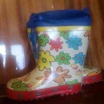 Тёплые деми сапожки на дожди, в г.Бишкек