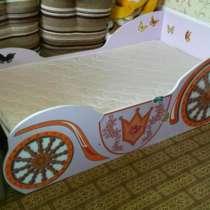 """Продам детскую кровать """"Карина"""" с ортопедическим матрасом, в Челябинске"""