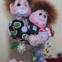 кукла-оберег для влюблённых Неразлучники-Валентин иВалентина, в Волгограде