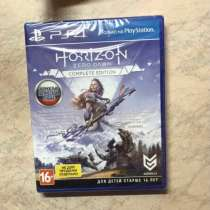 "Игра на PS4 ""Horizon Zero Down Completed edition"", в Москве"