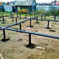 Фундаменты на винтовых сваях, в Костроме