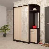 Шкаф-купе для прихожей, Неаполь (170 см - 200 см), в г.Брест