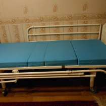 Кровать медицинская функциональная механическая, в Москве