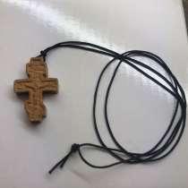 Крестик, деревянный на тики, в Екатеринбурге