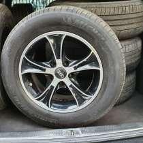 Титанові диски R15 для Audi з літньою резиною, в г.Ровно