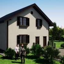 Проект каменного дома под названием Жаклин 3, в Ярославле