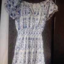 Платье с рукавами фонарики, в Севастополе