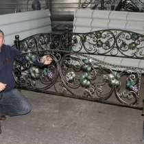 Оградка ритуальная на кладбище с полимерным покрытием, в Барнауле