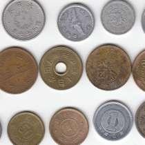 НАБОР: 16 монет Японии с 1921 по 2008 гг, в Москве