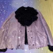 Куртка мужская из экокожи на натуральном меху, в Домодедове