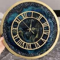 Часы из эпоксидной смолы, в Санкт-Петербурге
