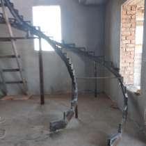 Лестницы сложных форм, в г.Бишкек