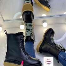 Ботинки зимние женские берцы высокие, в Москве