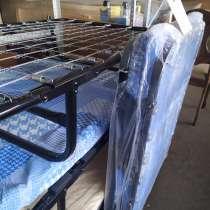 Раскладушки-кровати со сеткой в ассортименте, в Владикавказе