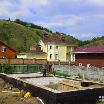 Земельный участок с фундаментом, в Красноярске