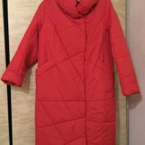 Яркое женское демисезонное пальто, в Кстове