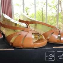 Новые кожаные классические босоножки Экко 39 размера, в Пятигорске