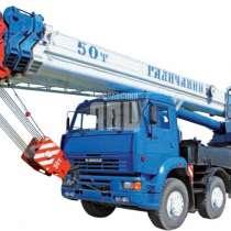 Аренда Автокранов шоссейных вездеходов до 50 тонн, в Самаре