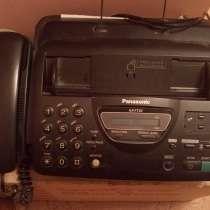 Факсовый аппарат с доп. тел. трубкой, в Москве