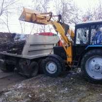 Снос зданий, вывоз мусора, щебень, песок, трактор, в Астрахани