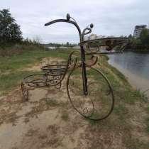 Кованая подставка для цветов Велосипед, в г.Гомель