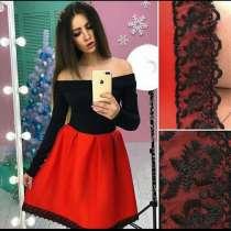 Вечернее черно-красное платье. НОВОЕ!!!, в Хабаровске
