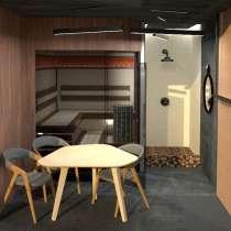 Дизайн и проектирование финских саун, строительство под ключ, в Москве