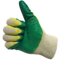 Перчатки ХБ с двойным латексным покрытием Стандарт, в Сергиевом Посаде