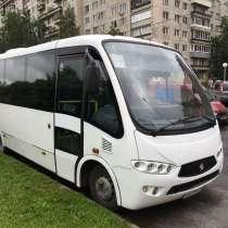 Туристический автобус, в Санкт-Петербурге