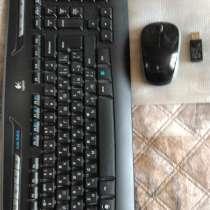Клавиатура и мышь Logitech, в Москве