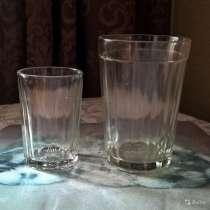 Стопка и стаканы граненые. СССР, в Новосибирске