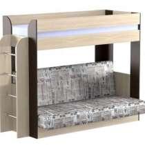 Кровать двухъярусная с диваном Колибри, в Нижнем Новгороде