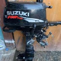Мотор лодочный Suzuki 6DF S, в Краснодаре