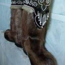 Унты из оленьей шкуры, в Белорецке