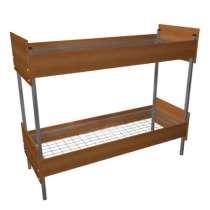 Кровати металлические эконом для рабочих,кровати для гостини, в Уфе